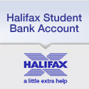 Halifax student bank account