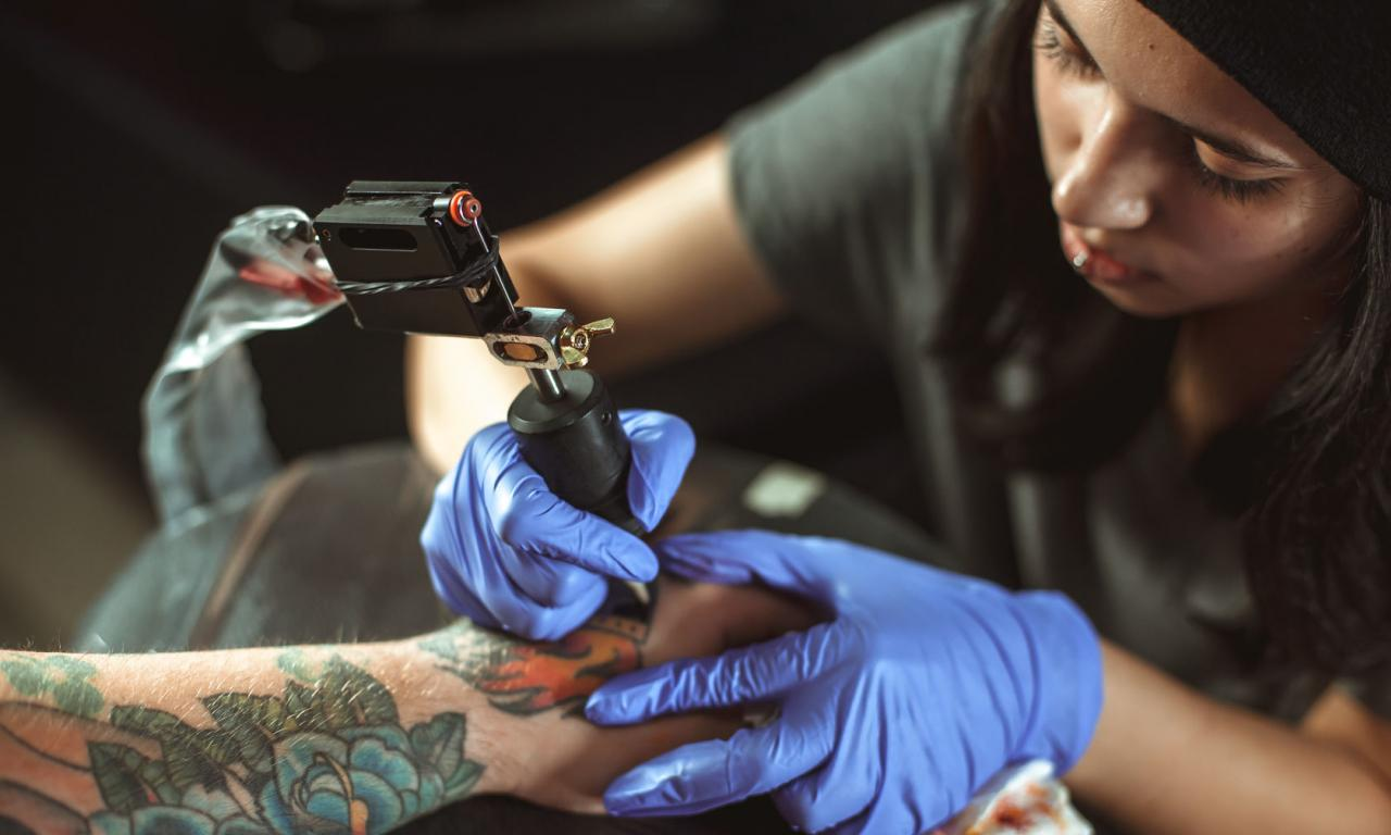 Top 20 unusual apprenticeships you ve never heard of for Tattoo apprenticeship age